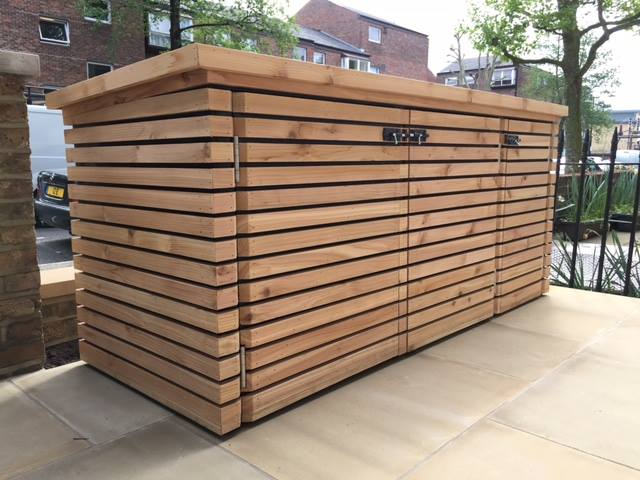Recent work carried out making these safe, sturdy, and slick storage. To see more of The Timber Merchant's timber products simply visit the website.