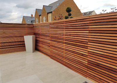 Cedar Contemporary Fencing