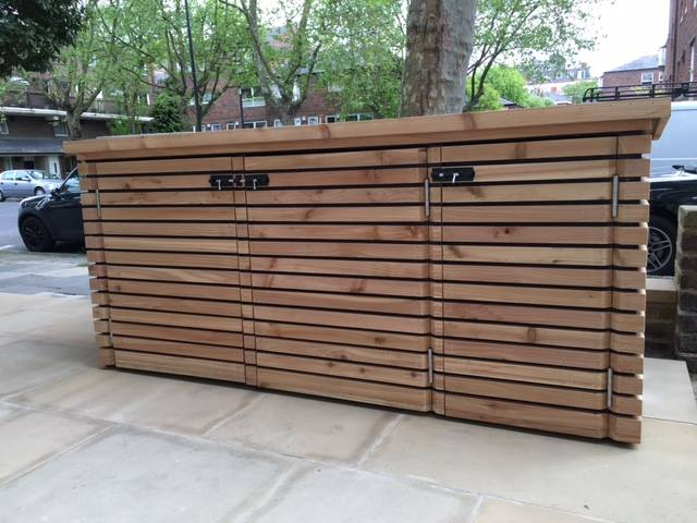Recent work carried out making these safe, sturdy, and slick storage. To see more of The Timber Merchants timber products simply visit the website.