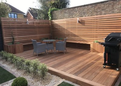 Balau decking and Screening 2